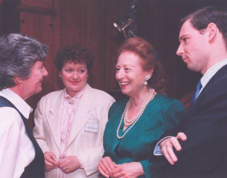 Princess Elettra Marconi-Giovanelli, with her son Guglielmo, toured Sydney and Glace Bay in 1995